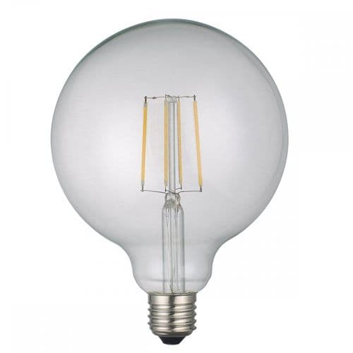 Dar Pack Of 5 E27 6w LED Dimmable Large Globe Lamp